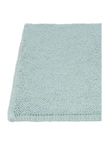 Stem Jacquard bath mat Duck egg