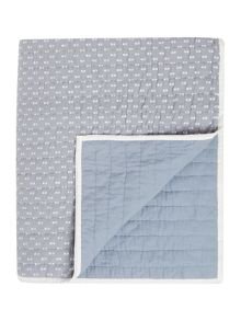 Dickins & Jones Quilted spot bedspread