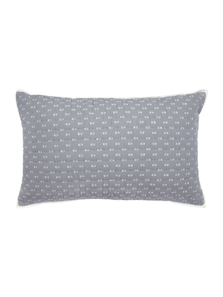 Dickins & Jones Quilted spot cushion
