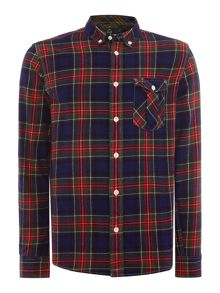 Duck and Cover Schofield Long Sleeve Tartan Shirt