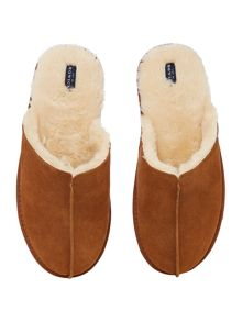 Howick Chestnut Mule Slipper