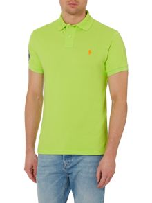 Polo Ralph Lauren Wimbledon Custom Fit Mesh Polo Shirt