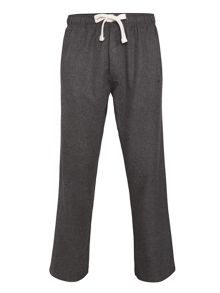 Grey Semi Plain Pyjama Pant