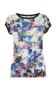 Beautiful colourful floral t-shirt