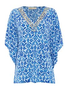Michael Kors Short sleeve kaftan top