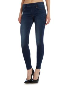 True Religion The runway legging jean in high tide