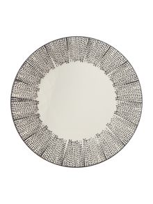 Gray & Willow Elska dinner plate