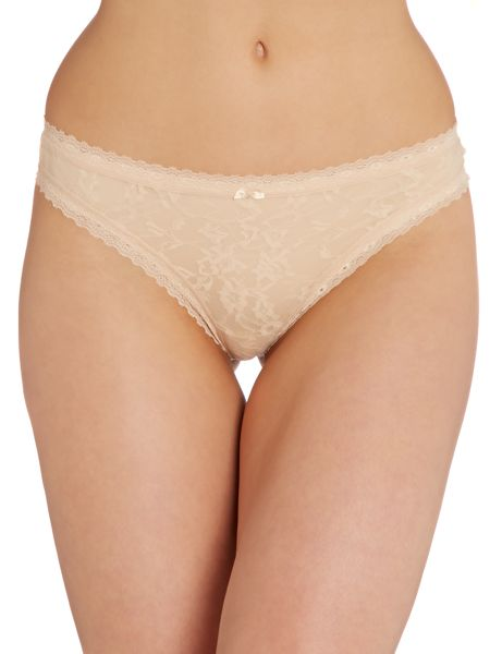 DKNY Signature Lace Thong