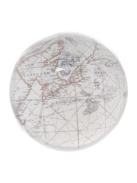 Linea Map Paper Weight