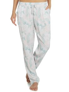 Linea Soft Blooms Woven Trouser