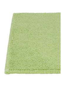 Orla Kiely Stem Jacquard bath mat in Apple