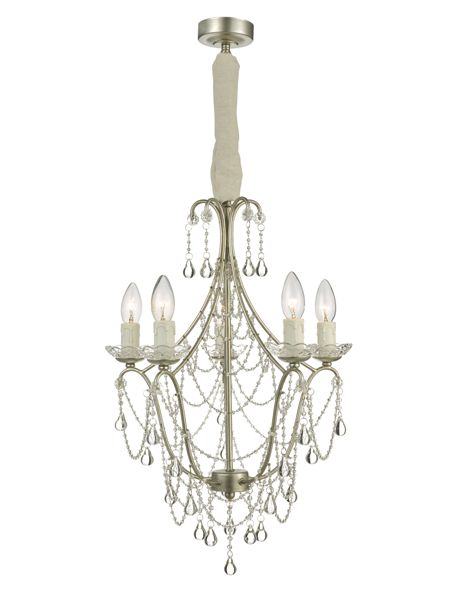 Shabby Chic Palace 5LT chandelier