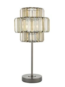 Biba Opulence glass table lamp