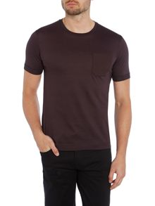 Kenneth Cole Reuben T-Shirt With Textured Pocket