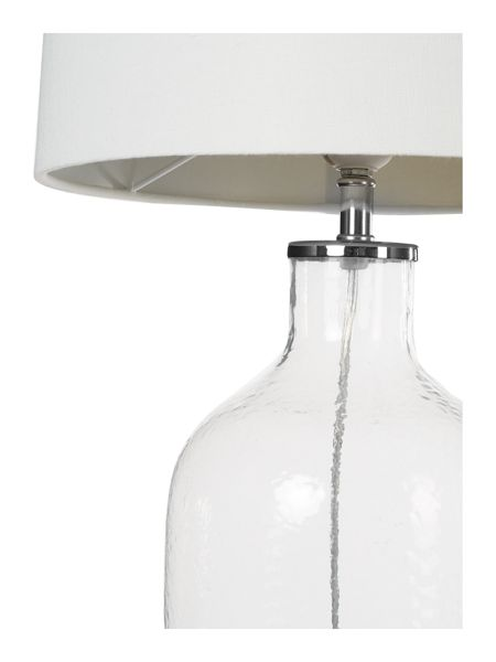 Linea Berwick clear glass table lamp
