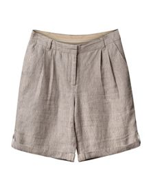 East Linen Stripe Short