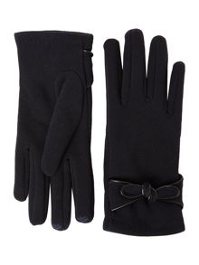 Smart Touch Bow Detail Thermal Glove