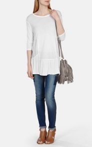White Kaftan T-shirt