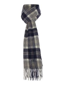 Howick Lambswool Check Scarf