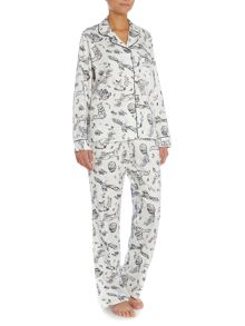 Wild Acres Print PJ Set