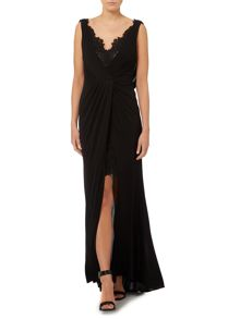 Lace detail limited edition maxi dress