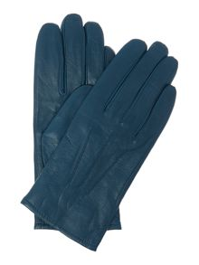 Three point leather gloves
