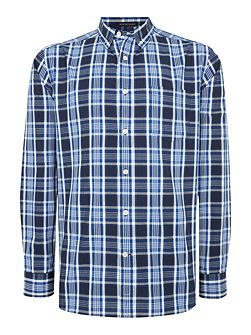 Men's Howick Carlsbad Long Sleeve Checked Shirt
