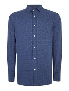 Howick Castine Printed Long Sleeve Shirt