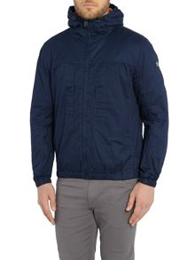Duck and Cover Signal light weight hooded jacket
