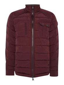 Duck and Cover Decode Quilted Jacket