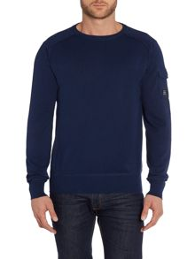 Duck and Cover Swanley-2 crew neck knitwear
