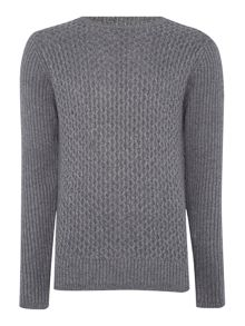 Clinton Crew Neck Cable Knitwear