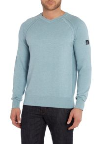 Duck and Cover Mairs V-Neck Knitwear