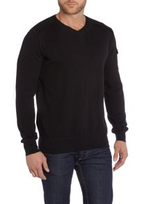 Duck and Cover Ripon-2 V-Neck Knitwear