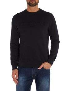 Duck and Cover Wirral crew neck sweatshirt