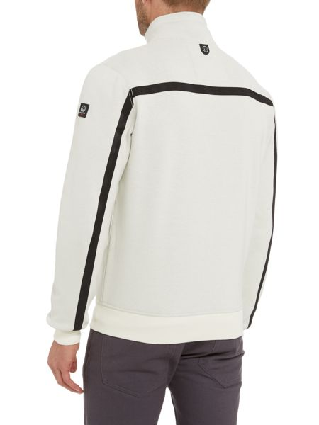 Duck and Cover Webb zip Thru Sweatshirt
