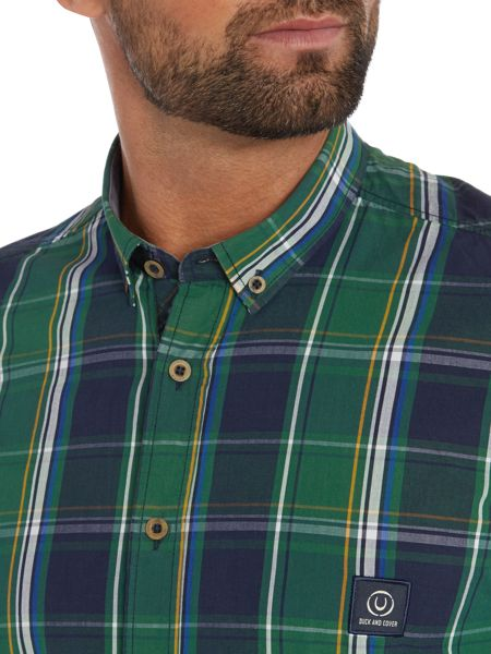Duck and Cover Jobson long sleeve large check shirt