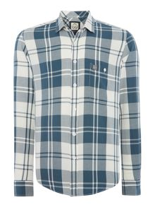 Duck and Cover Cornall long sleeve check shirt