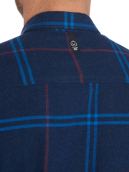 Duck and Cover Empire Long Sleeve Check Shirt