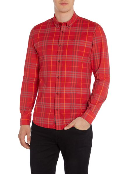 Duck and Cover Cleef long sleeve check shirt