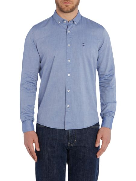 Duck and Cover Harris long sleeve oxford shirt