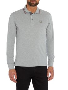 Duck and Cover Jordan Long Sleeve Polo Shirt