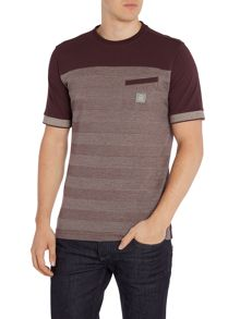 Zac short sleeve crew neck t-shirt