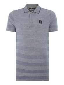 Duck and Cover Mason short sleeve pique polo