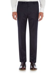 Ted Baker Uncoot Satin Trim Slim Fit Check Trouser