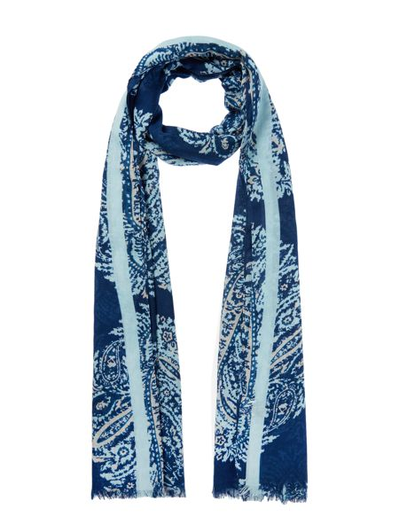 Linea Weekend Paisley Print Oversized Scarf