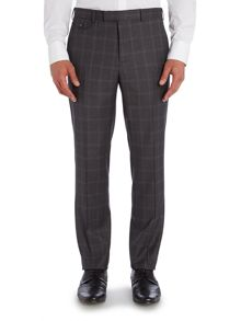 Modcor Shadow Window Pane Check Slim Fit Suit Tro