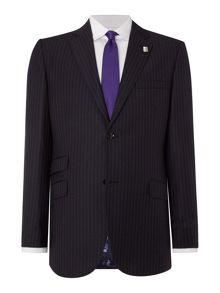 Ted Baker Wolf Stripe Regular Fit Suit Jacket