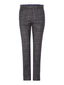 Modbea Prince Of Wales Window Pane Check Slim Fit