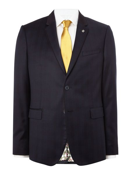Ted Baker Uncoot Satin Check Suit Jacket